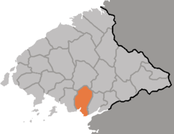 Location of Chongju