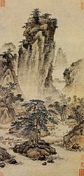 Dai Jin. Travelers Through Mountain Passes. 61,8x29,7 Palace Museum, Beijing..jpg