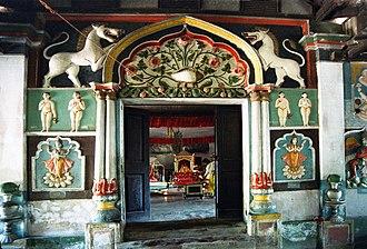 Satra (Ekasarana Dharma) - Sanctorium of the Dakhinpat Sattra in Majuli