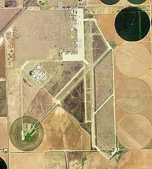 Dalhart Municipal Airport - 1996 USGS Photo