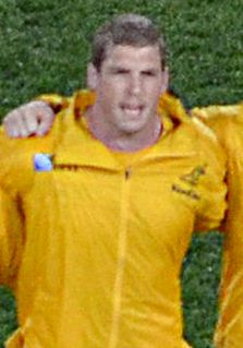 Dan Vickerman South African-born Australian rugby union player