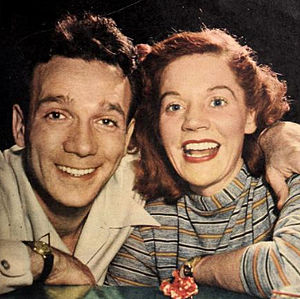 Dane Clark - Clark with his wife Margot in 1946