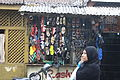 Dangling Shoes in the marketplace in Pune by Aman Deshmukh.JPG