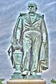 Daniel Webster Statue in Massachusetts Ave. Historic District.jpg