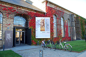 Danmarks Designskole - The Danish Design School in 2012, advertising an exhibition of graduation projects