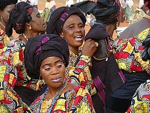 Togo - Togolese women in Sokodé.