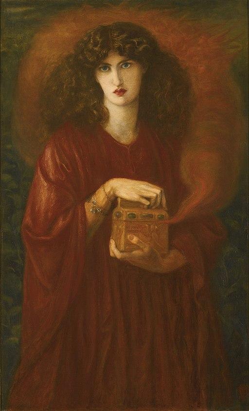 Dante Gabriel Rossetti - Pandora