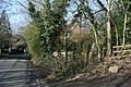 Darent Valley Path signposted off Station Rd - geograph.org.uk - 1726217.jpg