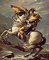 David - Napoleon crossing the Alps - Malmaison2.jpg