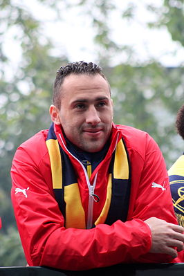Ospina bij viering FA Cup 2015