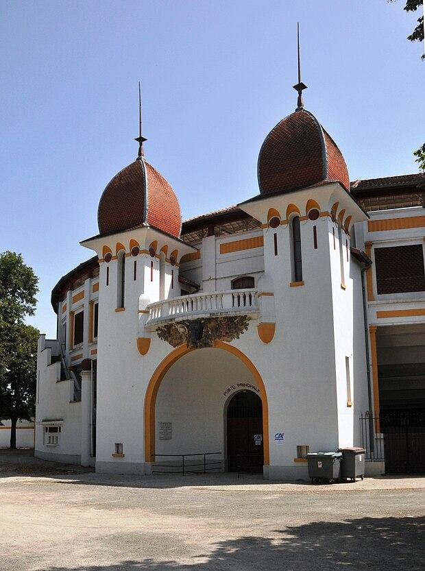 Monument historique à Dax