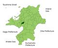 Dazaifu in Fukuoka Prefecture.png