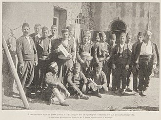 Decline and modernization of the Ottoman Empire - Surviving members of the takeover after they arrived in Marseille.