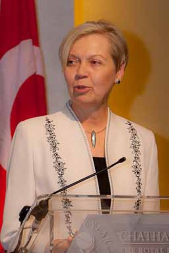 DeAnne Julius - DeAnne Julius at the Chatham House Prize award ceremony in 2010