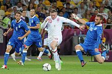 Rooney attracting the attention of three Italian players in 2012