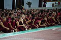 Debate Night - Drepung Loseling Monastery (Karnataka - India) (33690630365).jpg