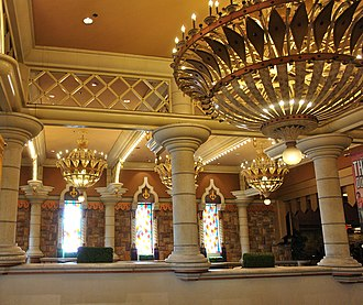 Excalibur Hotel and Casino - Image: Decorative Work at Excalibur Hotel & Casino, Las Vegas