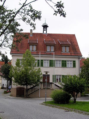 Deizisau - Old town hall from the 17th century
