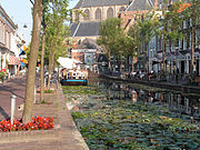Typical view of Delft (Vrouw Juttenland)