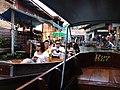 Demnoen Saduak Floating Vegetable Market Sai Noi Thailand - panoramio.jpg