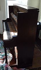 Upright Piano Room Ideas