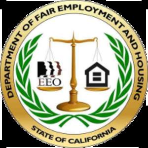 California Department of Fair Employment and Housing - Image: Department of Fair Employment and Housing logo