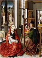 Derick Baegert - Saint Luke Painting the Virgin - WGA01145.jpg