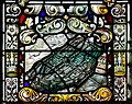 Derry Guildhall Tercentenary Window of The Honourable The Irish Society Right Side Window Detail Historic View of Londonderry 2019 08 29.jpg