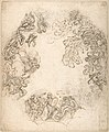 Design for a Ceiling Decoration- A Gathering of Mythological Figures (recto); Dancing Satyr and Two Seated Figures (verso) MET DP801345.jpg