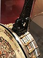 Detail, 1928 Bacon and Day Ne Plus Ultra Silver Bell Number 9, American Banjo Museum.jpg