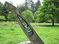 Detail - Passage of Time Sundial gnomon, or pointer - geograph.org.uk - 815005.jpg