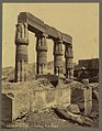 Detail du temple de Touthmès III à Karnak - Bonfils. LCCN2004666801.jpg