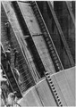 Detail of buttresses and forms in channel lining forms, Arizona spillway - NARA - 293929.tif