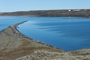 Maar - The Devil Mountain Lakes located on the Seward Peninsula in western Alaska are the largest maar-based lakes in the world.