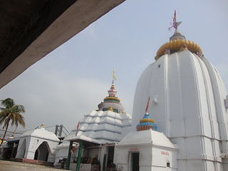 Dhabaleswar temple in India