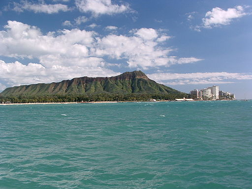 Diamond Head most popular place to see in Honolulu