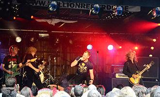 Diamond Head (band) - Diamond Head live in 2014
