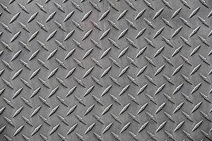 Diamond plate - Part of a diamond plate