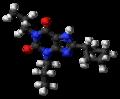 Dipropylcyclopentylxanthine 3D ball.png
