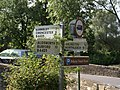 Direction Signs in Bibury - geograph.org.uk - 955672.jpg