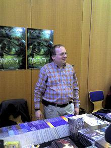 Dirk van den Boom auf dem Buchmessecon 2008
