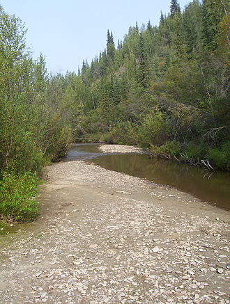 Bonanza Creek - Image: Discovery Claim at Bonanza Creek (1)