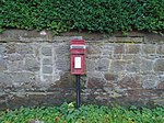 Disused post box on Saughall Massie Road.jpg