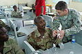 Djibouti U.S. Army Africa Soldiers offer first responder course 090806 (3820497464).jpg