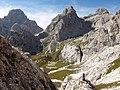 Dolomites - Alta Via 2, Stage 10-11 Rifugio Passo Cereda to Rifugio Bòz - panoramio.jpg