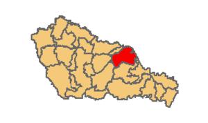 Domašinec - Location within Međimurje County