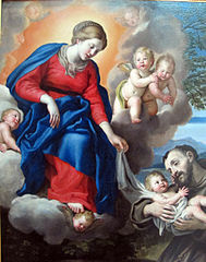 Madonna and Child with St. Francis
