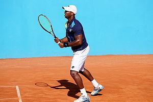 Donald Young (tennis) - Donald Young at the 2014 Open de Nice Côte d'Azur.