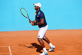 Donald Young (tennis) - Donald Young at the 2014 Open de Nice Côte d'Azur.