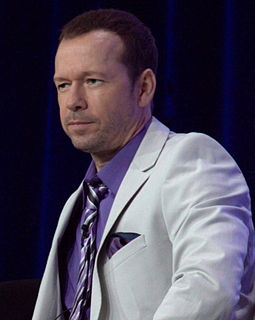 Donnie Wahlberg American singer, songwriter, actor, record producer, and film producer